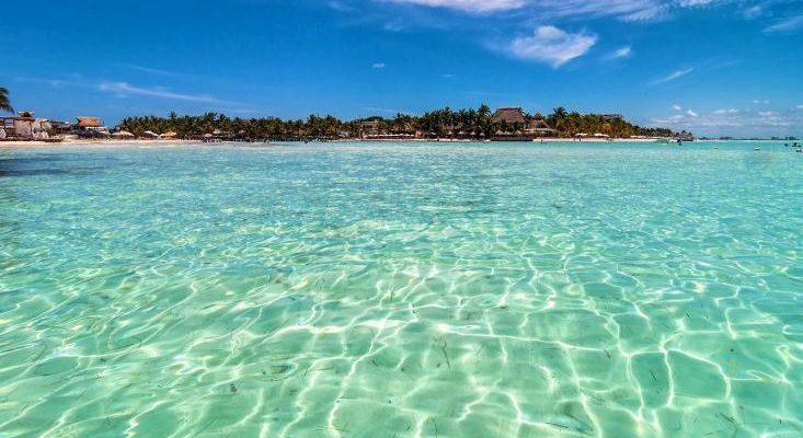 playa norte isla mujeres méxico