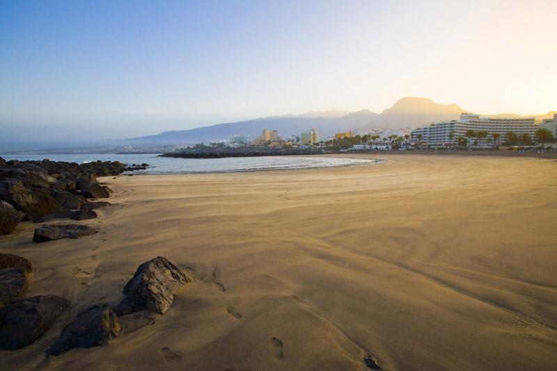 playas troya adeje españa