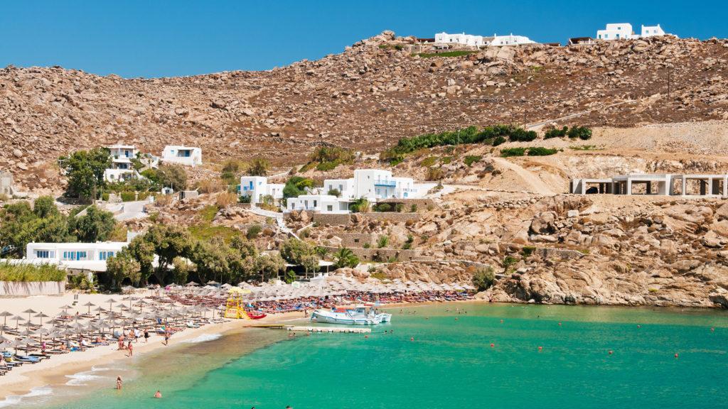 super paradise mykonos grecia europa