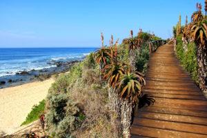 Un clima cálido y seco se vive todo el año en Jeffreys Bay