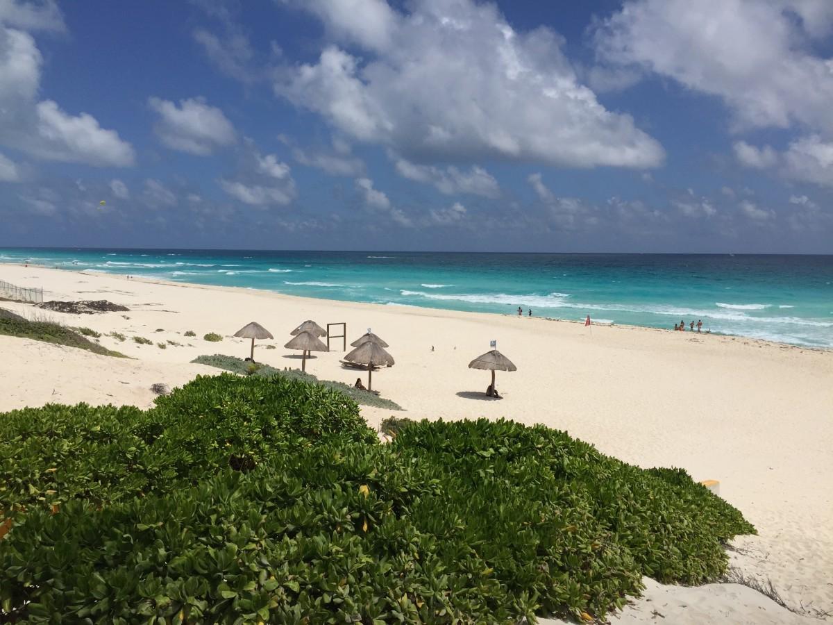 playa delfines cancún méxico
