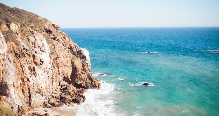 malibu playas secretas de los ángeles california estados unidos